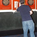 Darts at Cue's in Marietta